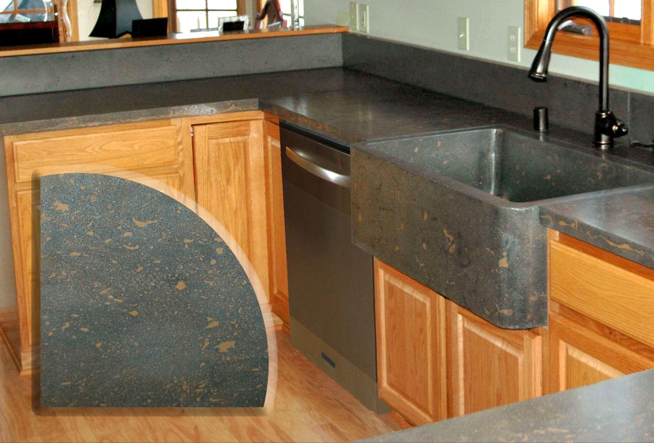 Gray Stone Countertops : Tri stone countertops