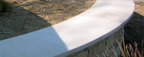 Cast Stone Coping Photo CO 2413